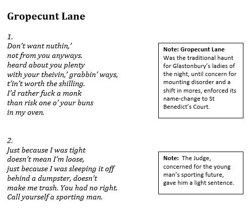 Gropecunt Lane